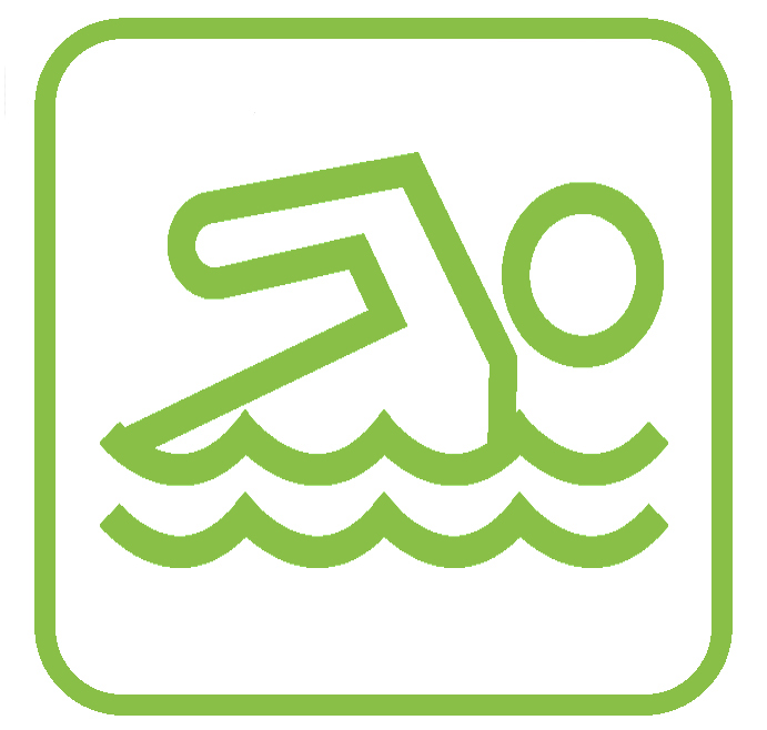 Swimming possible